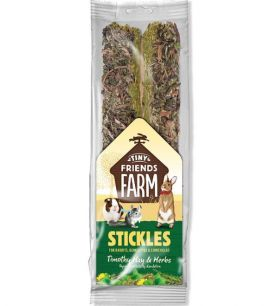 Supreme Petfoods Tiny Friends Farm Timothy Hay and Herb Stickles 100g