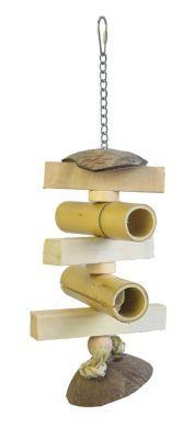 Bamboo Tubes Natural Toy
