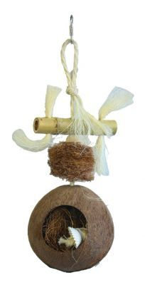 Coconut Hideout Small Animal Toy