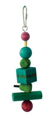 Chinchilla Wood Tumble Toy
