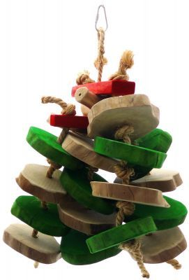 Java Play N Chew Large Strong Wood Toy