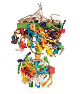 Spider Sisal Rope & Wood Toys