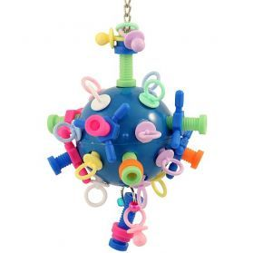 Nuts Bolts And Binky Medium Acrylic and Plastic Toy