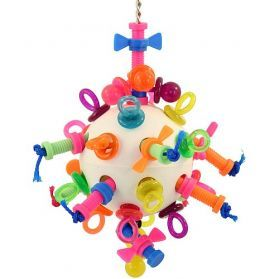 Nuts Bolts And Binkys Large Plastic and Acrylic Toy