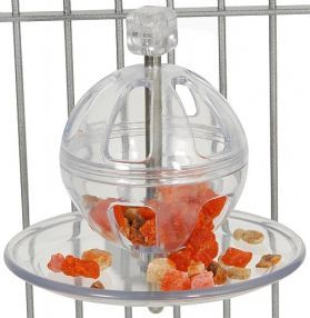 Buffet Ball With Cage Mount Foraging Toy