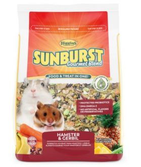 SUNBURST GOURMET BLEND HAMSTER & GERBIL 2.5lb