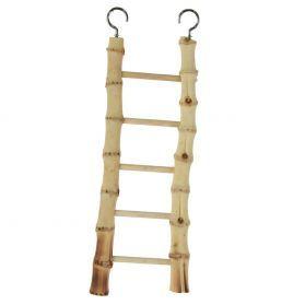 Natural Bamboo 5 Step Ladder