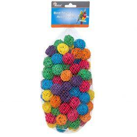 Wicker Balls - Pack Of 10