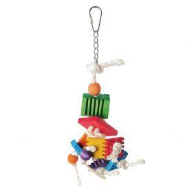 Groovy Jiggler Wood & Rope Toy