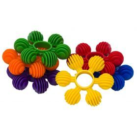 Plastic Flowers Pack 6 - Toy Making Part