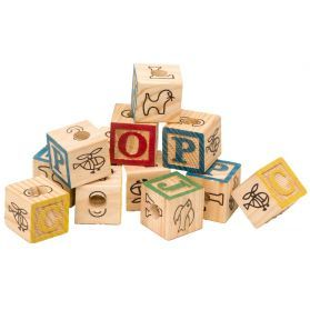 ABC Cubes Pack 12 - Wooden Toy Making Part