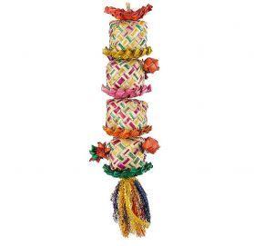 Flower Tower Medium Shredding Toy