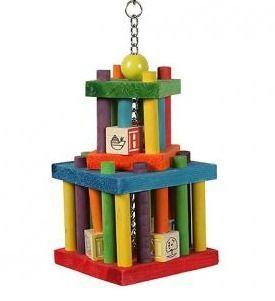 Building Blocks Maze Wood Toy
