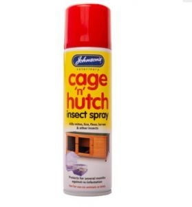 Johnsons Cage N Hutch Insect Spray 250ml