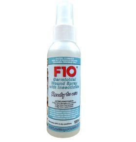 F10 Germicidal Wound Spray with Insecticide 100ml RTU