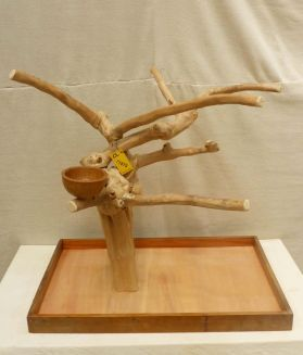 MINI JAVA TABLETOP TREE - LARGE - NATURAL HARDWOOD CLIMBING L71875