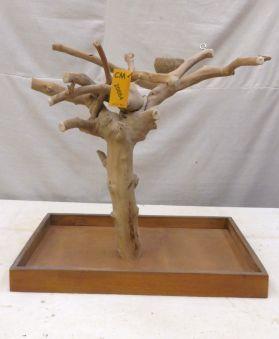 MINI JAVA TREE - Medium - NATURAL HARDWOOD PLAYSTAND JMM20664