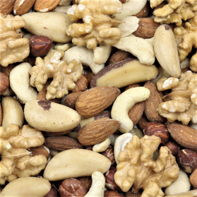 Deluxe Peanut Free Mixed Nuts Treat - Human Grade - 1kg