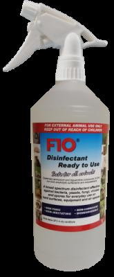 F10SC Veterinary Disinfectant RTU Trigger Spray 1 Litre