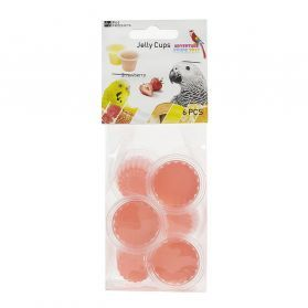 Fruit Cup Jellies Strawberry Treat Pack 6