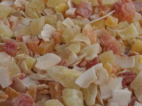 Tidymix Tropical Fruit  Treat - 500g - Human Grade