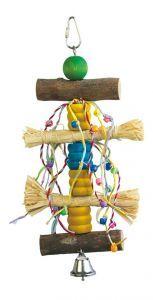 Sweet Tumble Raffia & Wood Toy