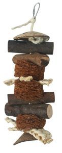 Log Chew Natural Rat, Chinchilla, Small Animal Toy