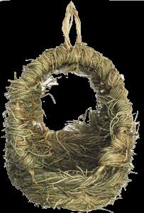 Wicker Grassy Chew Swing