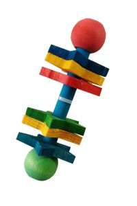 Ickle Rattle Fun Wooden Chew Toy