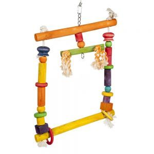 Colourful Square Swinger Climbing Toy
