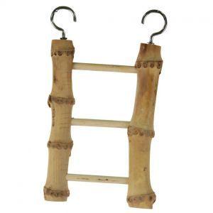 Natural Bamboo 3 Step Ladder