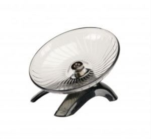 Saucer Wheel With Stand - Small
