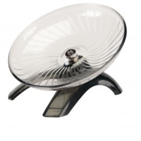 Saucer Wheel With Stand - Large