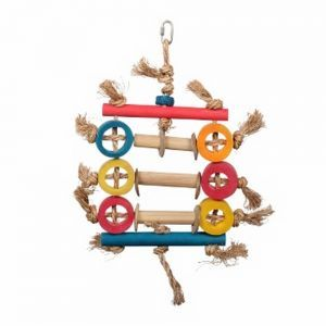 Bamboo Ring Abacus Chew Toy 44cm