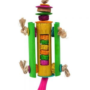 Rocket Ship Dried Corn Toy