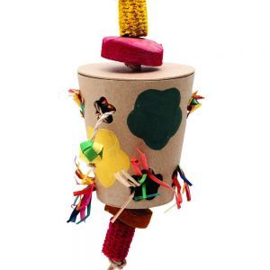 Flowerpot Natural Forager Chew Toy