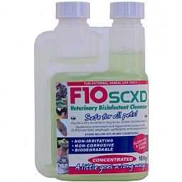 F10XD Pet Safe Veterinary Cleaner And Disinfectant Concentrate 100ml
