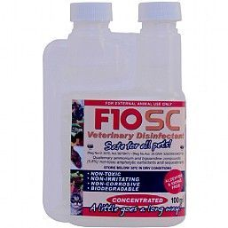 F10SC Animal Safe veterinary Disinfectant 100ml Concentrate