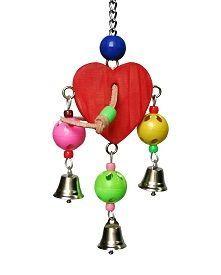 Wooden Happy Heart - Pet Toy