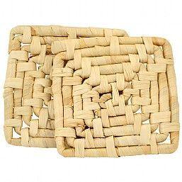 Natural Maize Mat - Pack of 2