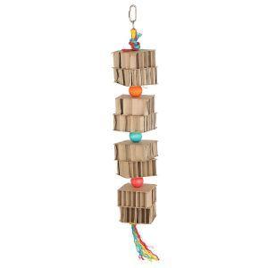 Cardboard Tower Shredding Toy