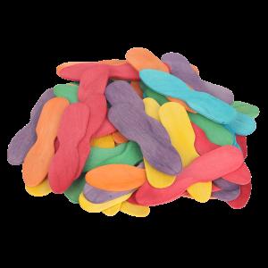 Coloured Ice Cream Sticks Pack 50
