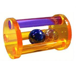 Acrylic Ball Rattle - Animal Toy
