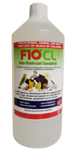 F10 Veterinary CL Concentrate Disinfectant - Animal Safe 1 Litre