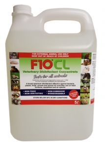 F10CL Veterinary Concentrate Sanitiser 5L