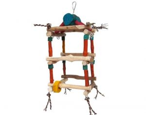 Java Double Tower Climbing Frame