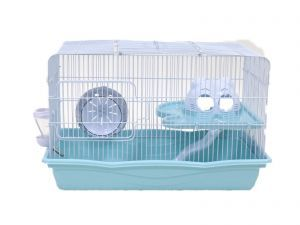 LittleZoo Harry Blue Dwarf Hamster, Mouse, Gerbil Cage