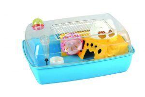 LilttleZoo Hayden Blue Dwarf Hamster, Mouse, Gerbil Cage
