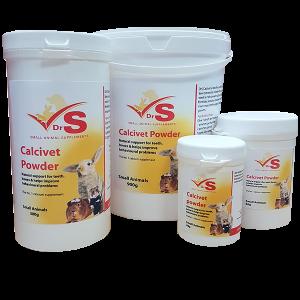 DrS Calcivet On Food Powder 80g