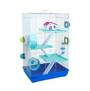 LittleZoo Holly Blue Hamster, Mouse, Gerbil Cage